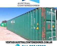 Contenedores Marítimos Usados Santa Fe Nacionalizados