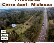 1 Hectárea Cerro Azul Misiones