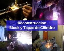 Soldadura de Motor - Reconstrucción de Block