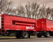 Carrocería Tolva Autodescargable con Tubo de Descarga 12m3