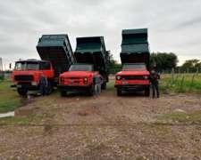 Camiones Volcadores para Picado Fino