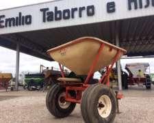 Fertilizadora Barbuy 600 a Péndulo