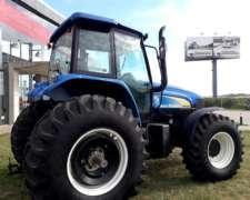 Tractor Sobre Neumáticos New Holland Modelo TM 7040