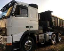 Camión Tractor Volvo Tatu 6X4 - con Batea Ombu / Buen Estado