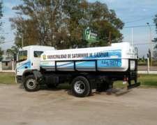 Camion Regador Plasticos Laspiur 10.900 Lts.