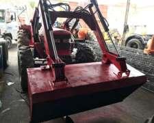 Tractor Mahindra 8500 DT con Pala