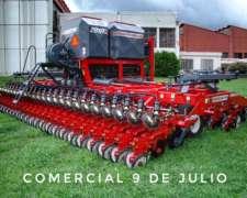 Sembradora Apache AIR Drill 63000 Combinada - 9 de Julio