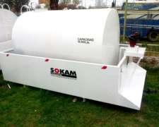 Cisterna Aérea Sobre Batea Antiderrame