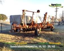 Sembradora Agrometal TX Mega 16/52 - 20/42
