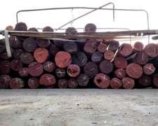 Postes Quebracho Colorado Labrados Baires Forestal