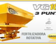 Fertilizadora de Montado Grosspal VG 1000 3 Puntos Nueva