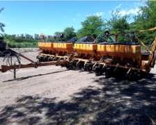 Sembradora Agrometal de 14 a 52 Autotrailer
