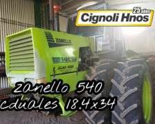Zanello 540 , con Duales, Vigia, Climatic, Original.