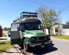 Casa Rodante Bedford 65 con 20000km, Motor Original