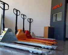 Zorra Hidráulica Manual - 2.000, 2.500 y 3.000 Kg