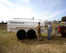 Acoplado Tanque Cafito 8000 Lts Atérmico para Leche