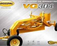 Niveladora de Arrastre VG 304 - Grosspal