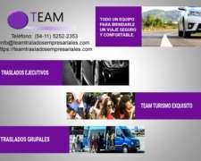 Team Traslados Empresariales Grupales Y Privados