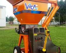 Quebradora/moledora de Granos Transportable 40 Tn/h