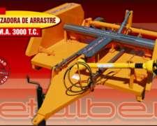 Desmalezadora DMA 3000-2000-1500-1500 C/lateral Metalbert