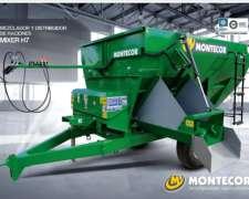 Mixer Horizontal H7 Montecor. Mezclador y Distribución de