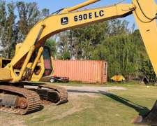 Excavadora John Deere 690 ELC
