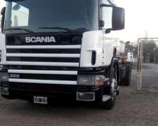 Scania 260 Chasis Largo