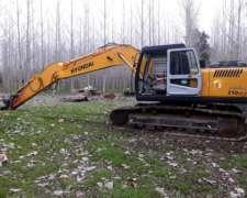 Excavadora Sobre Orugas Hyundai 210lc-7.