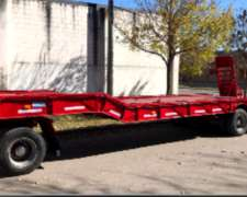 Carretones para Transporte de Maquinarias