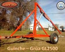 Guinche - Grua Mod. GL2500