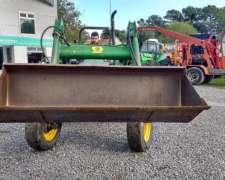 Tractor Massey John Deere 5400 con Pala Frontal JD