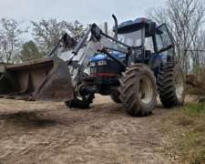 Tractor New Holland TL100 con Pala