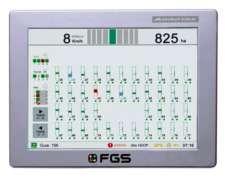 Consola Fgs(agrotax) Para Monitor De Siembra