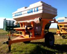 Fertilizadora EDR 1500 1 Eje Pozzi