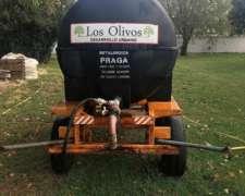 Vendo Cisterna Montada En Acoplado Marca Praga 3000 Lts