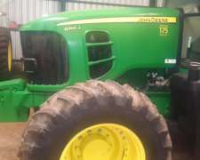 Tractor John Deere 6165j, C/1500 Hs C/ 3 Puntos Mano Unica