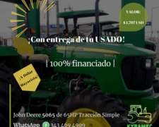 Tractor 5065 de 65hp Tracción Simple