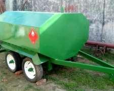 Tanque Cisterna Usado 3000 Litros Reales Impecable