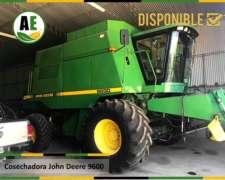Cosechadora Jhon Deere 9600, Reparada