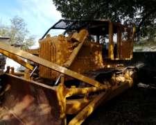 Topadora Caterpillar D8h Con Caja . Excelente U$s 75 Mil