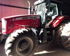 Tractor Massey Ferguson 7390, año 2017