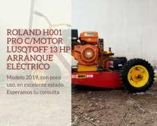 Roland H001 PRO C/motor Lusqtoff 13 HP Arranque Eléctrico