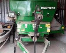 Mixer Horizontal Montecor de 7 Mts Cubicos. con Balanza Magr