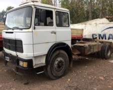 Fiat 619 1985 Con Caja Scania Y Diferenciales De Mb Axor