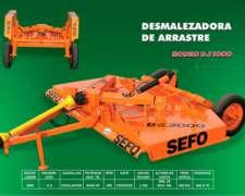 Desmalezadora De Arrastre 3000 - Sefo -