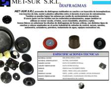Diafragmas , Membranas , Desmopan ,silicona ,goma En General