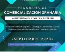 Programa Comercialización Granaría 2020