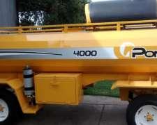 Tanque Combustible Pony 4000 Lts GAS OIL - 900lts de Agua