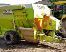 Mixer Horizontal Storti 7 M3 año 2014 - Impecable