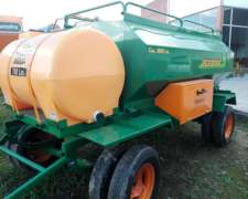 Acoplado Tanque 3000 + 700 Agromec Full